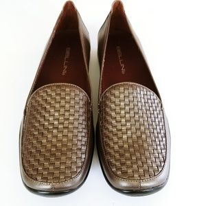 Bellini woven loafers 8.5